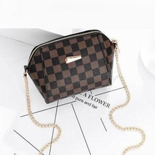 Lady bags Chain Plaid Design Luxury Women's Bag