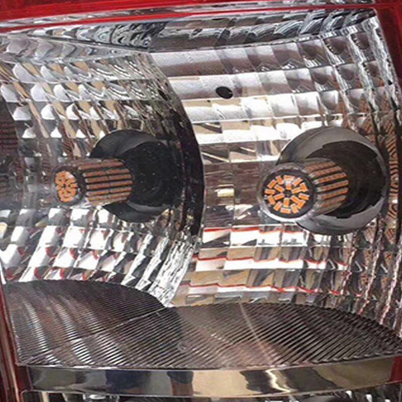 2X Canbus 1156 144SMD BAU15S PY21W LED Luz de señal de giro 12V ámbar/amarillo