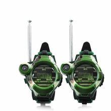 Watch Transformer-Watches Game-Gadget Walkie-Talkies Electronic-Radio Interphone Kids