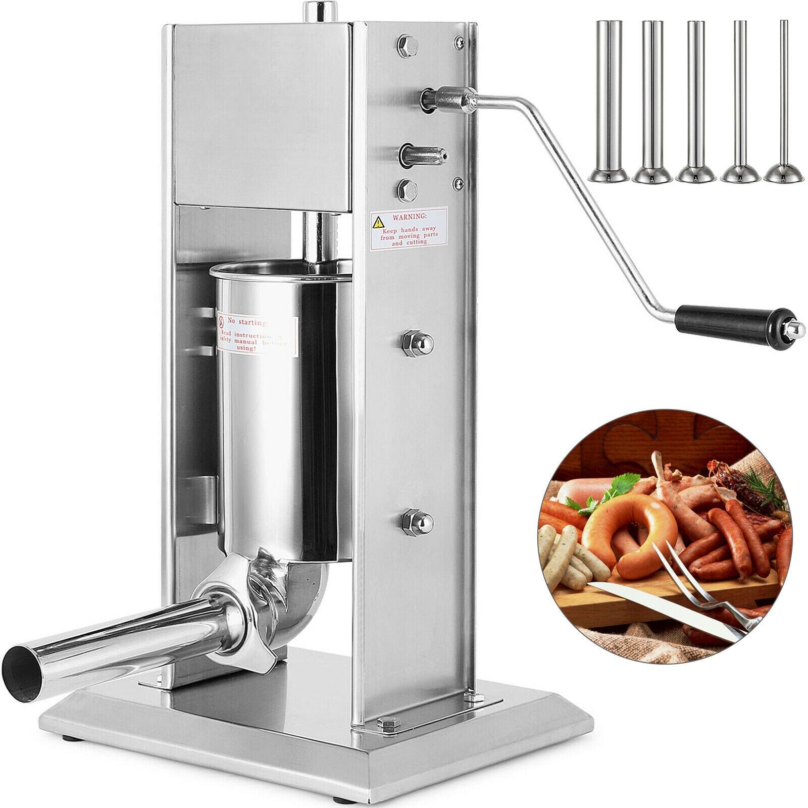 3l 소시지 stuffer 필러 메이커 고기 기계 5 노즐 상업 식당-에서만능 조리 기구 부품부터 가전 제품 의 title=