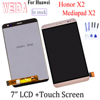 WEIDA 7.0 Original For Huawei Honor X2 LCD Display Touch Screen Digitizer Assembly For Huawei Honor X2 MediaPad X2 GEM 703L LCD
