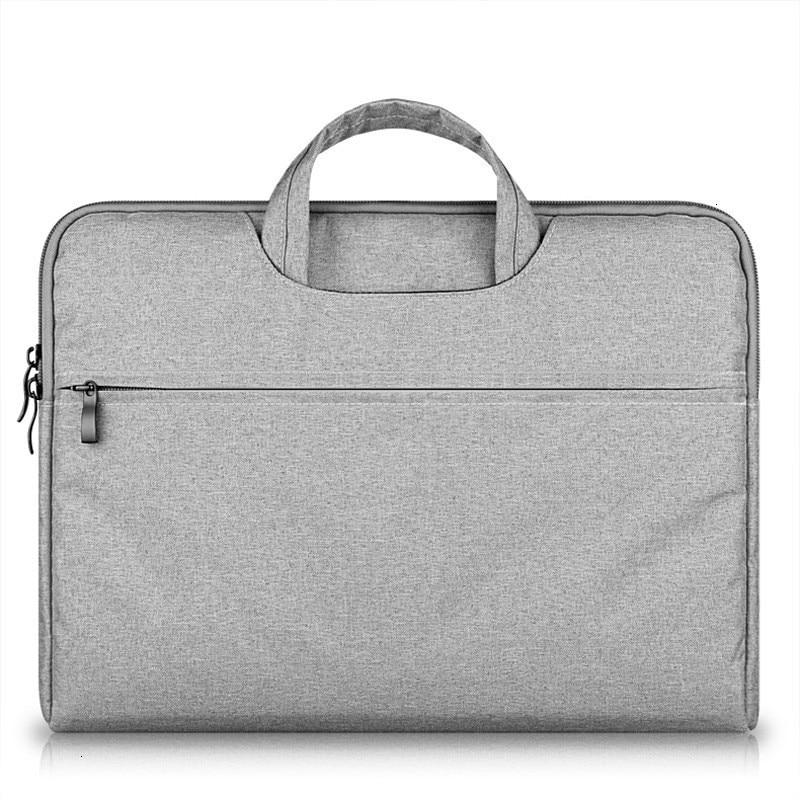 Canvas Business Bags Man Waterproof 15.6Inch Portable Laptop Bag Women Gray Pink Blue Purple Briefcases Men Handbag