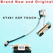 Novo lcd edp toque cabo flexível de vídeo para lenovo thinkpad et481 t480s 01yn994 sc10t06305 dc02c00bl10