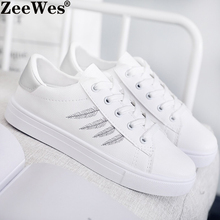 2019 New Spring Autumn Female Flat Casual Shoes Women Vulcan