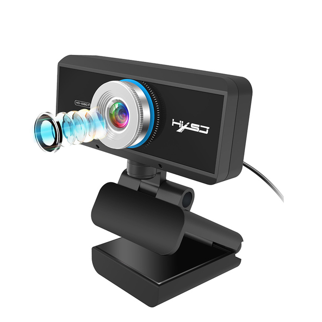 Webcam 1080P 30FPS Full HD Streaming Video Anchor USB Web Camera Built-in Stereo Microphone With Tripod for PC Computer 1