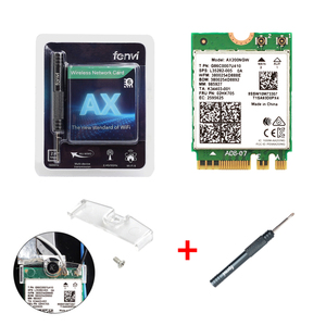 Image 5 - ثنائي النطاق 2.4Gbps اللاسلكية إنتل واي فاي 6 AX200 بلوتوث 5.0 802.11ax/التيار المتناوب MU MIMO 2x2 واي فاي NGFF M.2 شبكة Wlan بطاقة AX200NGW