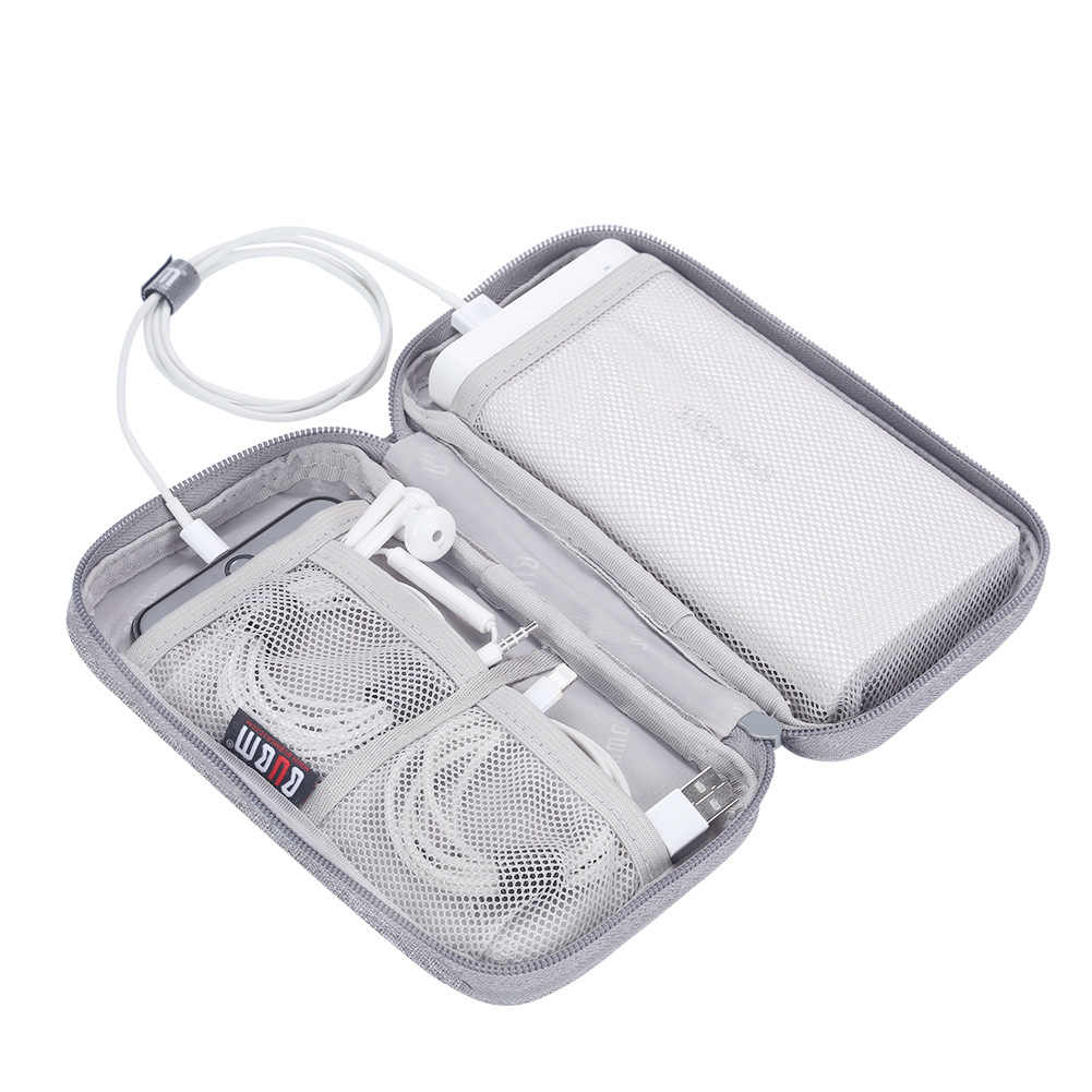 Digital Charger Storage Bag USB Data Cable Organizer Earphone Wire Bag Power Bank Travel Kit Case Pouch Electronics Accessories