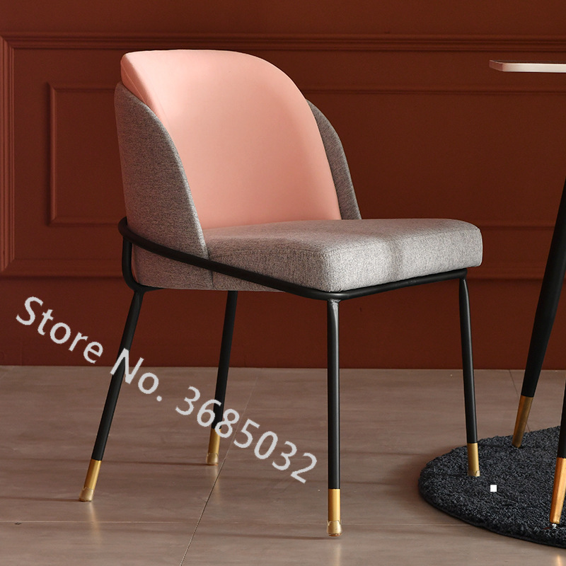 Nordic Single Living Room Sofa Balcony Stools With Breathable PU Modern Minimalist Sofa Personality Leisure Bedroom Room Chair