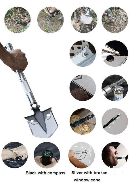 Πτυσσόμενο Πολυλειτουργικό Φτυάρι Εργαλεία Κηπουρικής Και Επιβίωσης