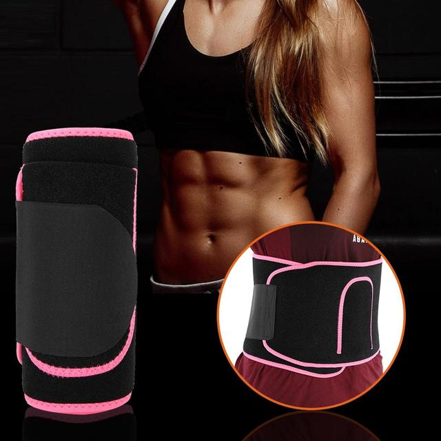 Waist Trimmer Belt Weight Loss Sweat Band Wrap Fat Tummy Stomach Sauna Sweat Belt Sport Safe Accessories 1