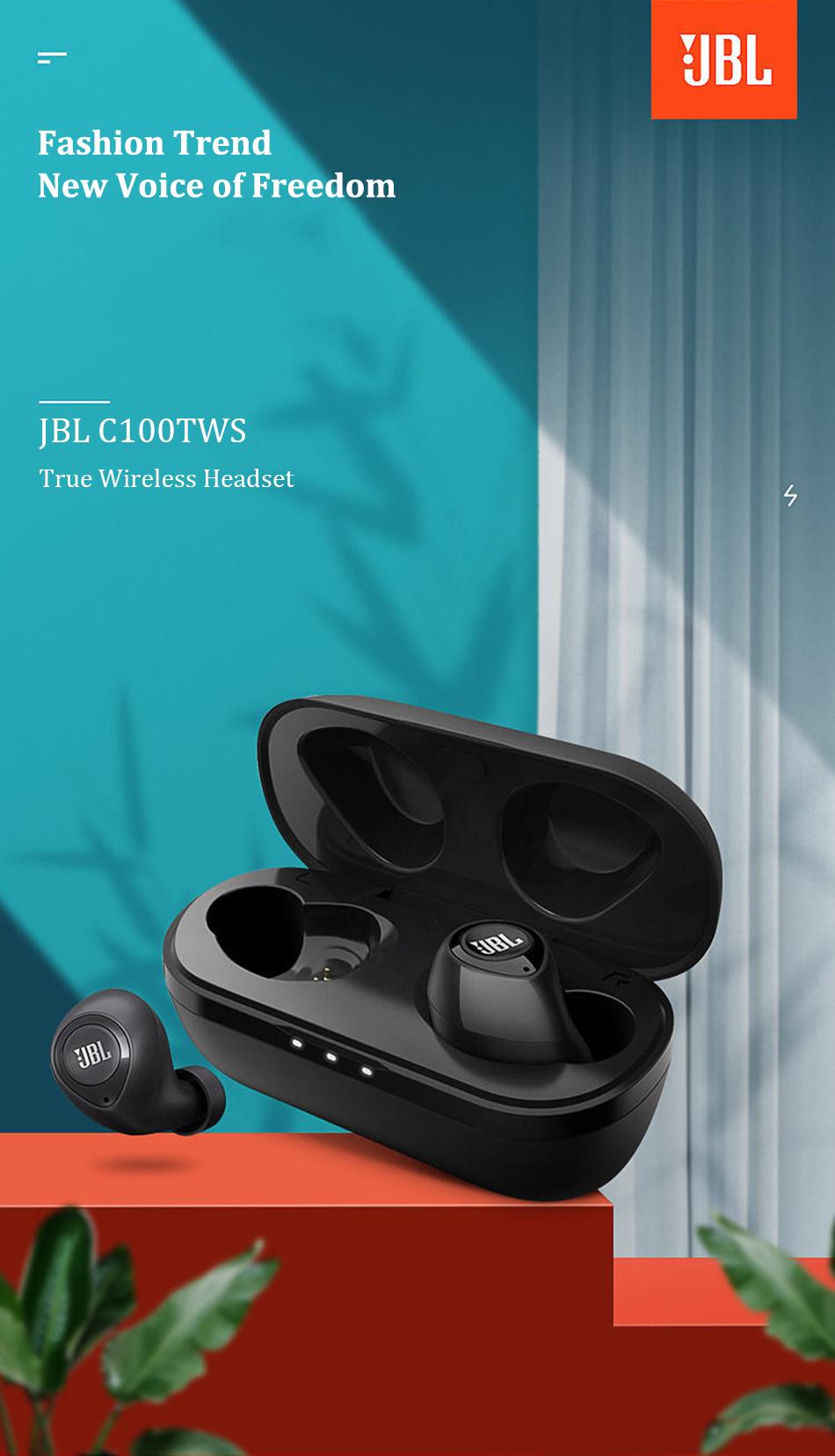 JBL C100TWS True wireless headphones 9