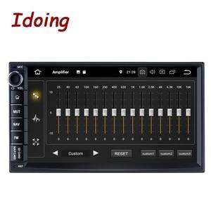 """Image 1 - Idoing 7 """"PX5 4ギガバイト + 64グラム8コアユニバーサル2Din車アンドロイドラジオvedioのプレーヤーipsスクリーンgpsナビゲーション、マルチメディアbluetooth nodvd"""