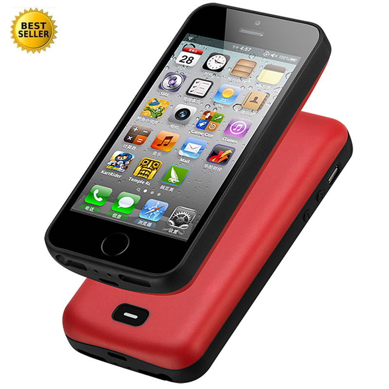 For <font><b>iphone</b></font> <font><b>5</b></font> 5S SE <font><b>Battery</b></font> Charger <font><b>Case</b></font> 4000 Mah Smart Phone Cover Power Bank <font><b>Battery</b></font> <font><b>Case</b></font> image