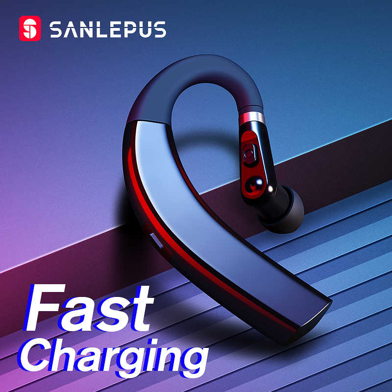 Sanlepus Cepat Pengisian Bluetooth Headphone Siaga Super Panjang Wireless Earphone Bluetooth Headset untuk Drive Noise Cancelling