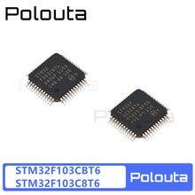 Polouta Microcontroller Unit STM32F103CBT6 LQFP-48 32-bit MCU Computer Components Encoder Electronic Kits Potentiometer