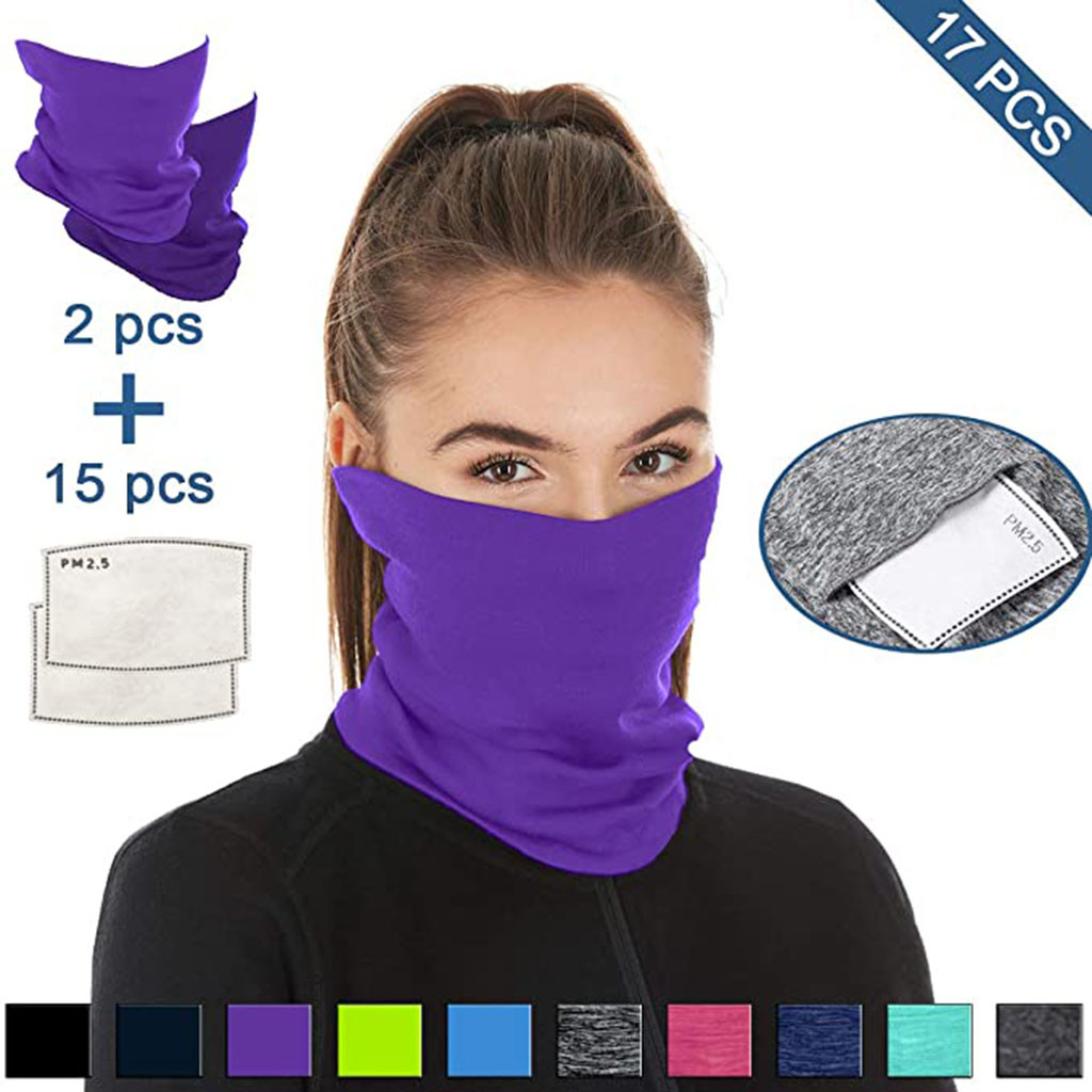 He01ae871f7ef4f0593a1d6928e5f83d8z Multifunctional Head Scarf Maske Facemask Face Mouth Neck Cover With Safety Filter Mascarillas Washable Bandanas Reusable