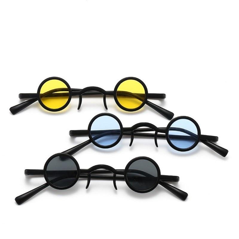 1 Uds nuevo clásico Vintage gótico estilo vampiro gafas de sol genial gafas de sol pequeño diseño de marca conductor gafas