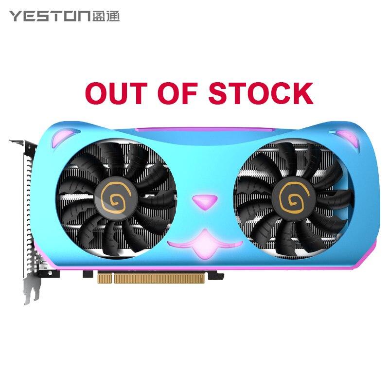 Yeston Radeon RX5600XT 6G D6 MA Graphics Card 6G/192bit/GDDR6 7nm Video external Graphics Card Gaming Desktop Computer PC|Graphics Cards| - AliExpress