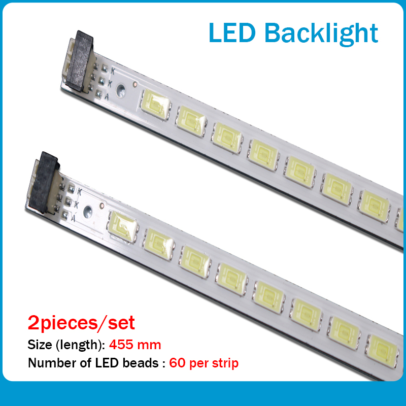 L40F3200B 40-DOWN LJ64-03029A LTA400HM13 Backlight 1piece=60LED 455MM 2pieces/lot