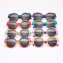 Детские солнцезащитные очки для мальчиков и девочек, детские солнцезащитные очки TAC, ультрамягкие силиконовые очки UV400