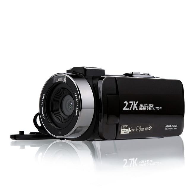 Video Camcorder Camera Full HD 1080P Vlog Camera 30MP 16X Digitale Zoom LCD Met Ruisonderdrukkende Microfoon