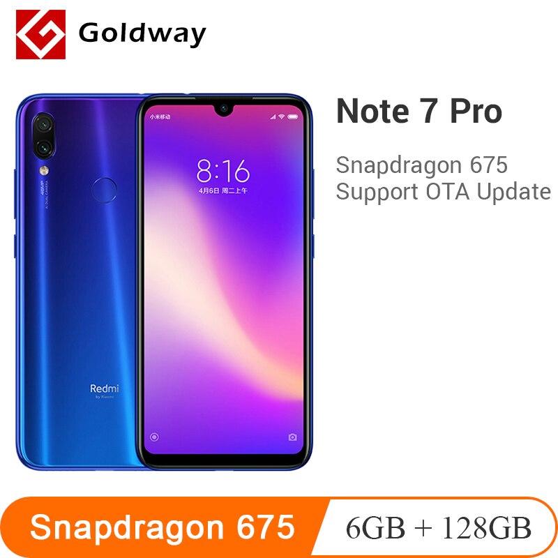 Xiaomi Redmi Note 7 Pro 6GB RAM 128GB ROM Smartphone Snapdragon 675 Octa Core 4000mAh 18W Quick Charger 48MP Dual Camera
