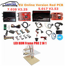 Neueste Online Red V2 2,53 V 5,017 V2 4LED V 7,020 V 2,25 Kein Token OBD2 Manager 4LED 7,020 ECU upgrade Programmierer