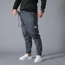 Wear-resistant Multi-pocket Cargo Pants Trousers Plus Size w
