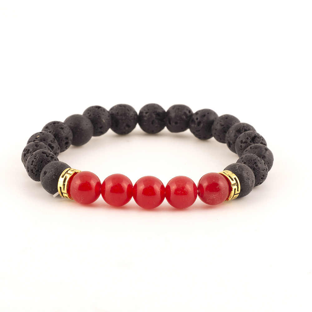 2019, мульти стиль, мужской браслет, натуральная энергия, вулканический камень, браслет из лавового камня, браслет, мужские ювелирные изделия, подарок