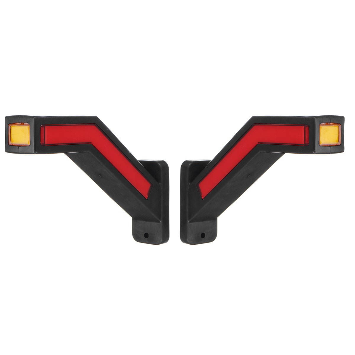 2 шт. Led прицеп светильник s динамический Led Сигналы поворота Боковые габаритные светильник автомобиля Ван контурных грузовик светильник стоп сигнальная лампа