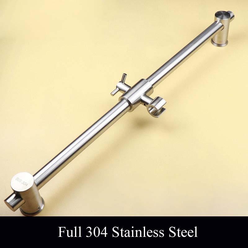 66cm Length Full 304 Stainless Steel Shower Sliding Bar