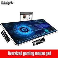 MRGBEST абстрактные Радио большой игровой коврик для мыши геймер компьютер коврик для мыши стол коврик замок край для CS ЛОЛ Доту идти 1200X600X3MM