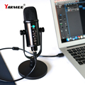 YARMEE New Product USB Computer Microphone Desk Mic For Live Streaming Music Recording YR13