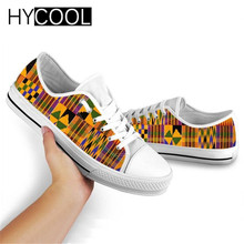 Sneakers Canvas-Shoes Female Casual Women HYCOOL Breathable Lace-Up Footwear Tribe Low-Top