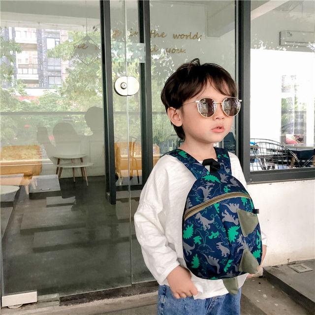 3D Cotton Kids Kindergarten Student School Bags Children Backpack Cartoon Infant Book Bags Dinosaur Book Bags for Baby Girls Boy 5