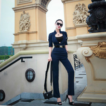 Clothing Women Jumpsuit Short-Sleeve Spring Female Sexy Fashion Ladies Brand Girls Autumn
