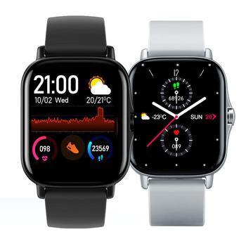 GTS 2 Smartwatch mężczyźni Bluetooth Call 1 72 cala w pełni dotykowy opaska monitorująca aktywność fizyczną zegar ciśnienia krwi kobiety inteligentny zegarek VS P8 tanie i dobre opinie ELFTEAR CN (pochodzenie) Brak Na nadgarstku Wszystko kompatybilny 128 MB Passometer Fitness tracker Uśpienia tracker
