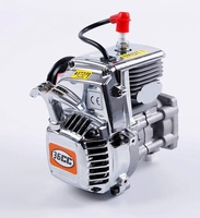 1/5 rc car spare parts engine parts 36CC 4 bolts chrome covers Engine with for Walbro1107 carb NGK spark plug