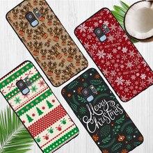christmas gift For Samsung Galaxy S6 S7 Edge S8 S9 S10 Plus Lite Note 8 9 10 A30 A40 A50 A60 A70 M10 M20 phone Case Cover funda