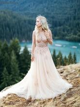 Светильник платье для выпускного Шампань Тюль одежда с длинным