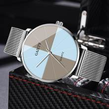 Luxury Wrist Watches Women Men Ladies Fashion Watch Creative Two-Color Reflect Dial Simple Couple Clocks Relojes De Mujer 2020(China)