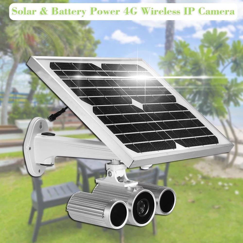 Wanarnaque HW0029-6 1080P énergie solaire alimenté par batterie 4G sans fil WIFI caméra Starlight Vision nocturne surveillance de sécurité extérieure