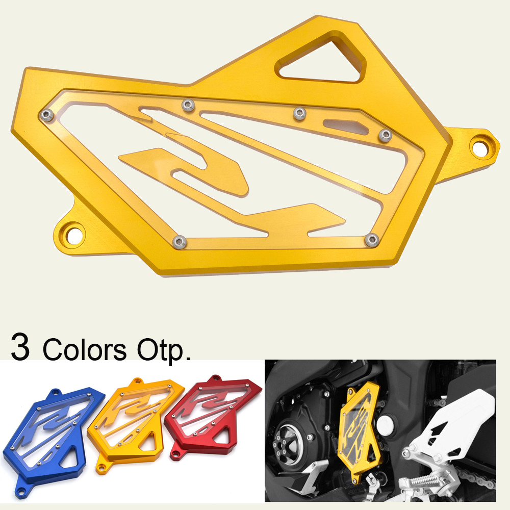 Frame Hole Front Drive Shaft Cover Guard For <font><b>Yamaha</b></font> YZF R25 YZF R3 <font><b>MT25</b></font> MT03 2015-2018 YZF-R25 YZF-R3 ABS MT-25 MT-03 2016 2017 image