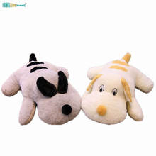 Soft Stuffed plush Animals Dog Plush Toys pillow dog kids toy sofa cushion backrest birthday Christmas Gift 70-100cm недорого