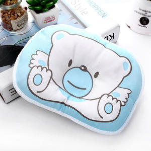 Head Pillow Comfortable Newborn-Baby Cartoon-Bear Prevent-Babies Cute And Falls From-Turning