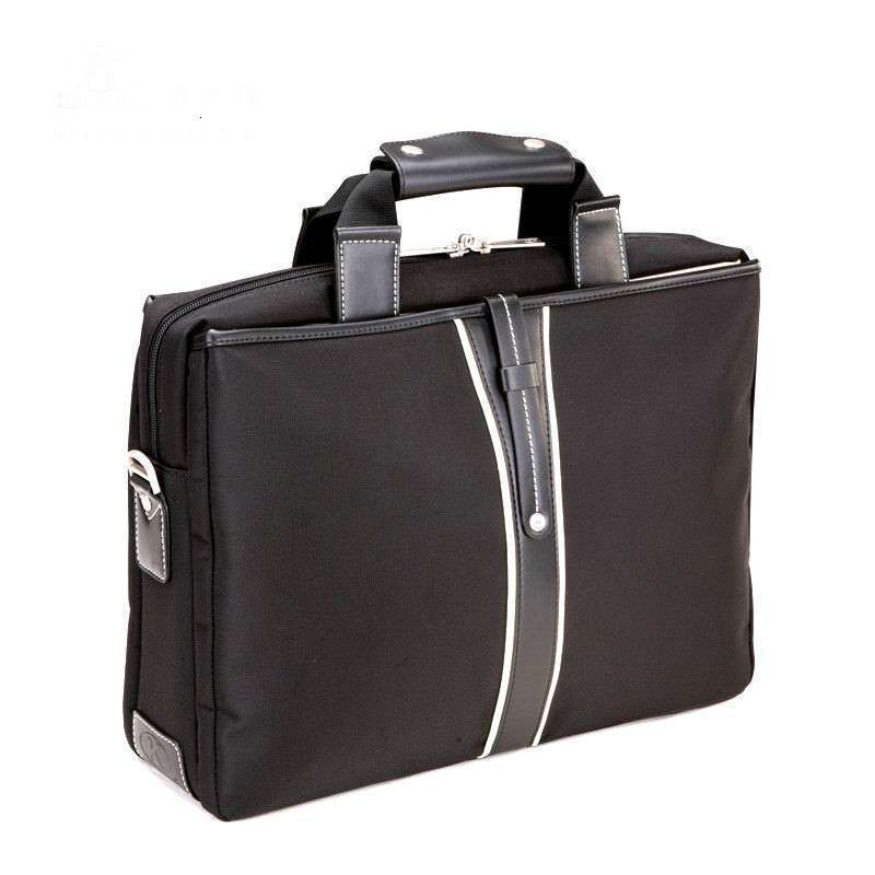 Oxford Waterproof Men Business Briefcase Fashion 13 14 15 17Inches Laptop Bag Travel Shoulder Handbag