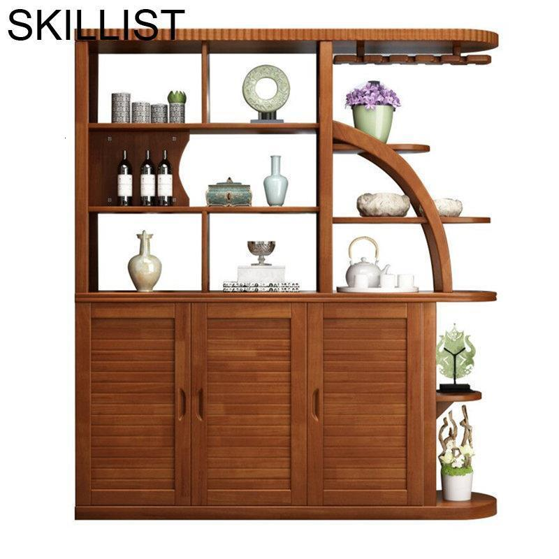 Vetrinetta Da Esposizione Desk Kast Salon Armoire Table Storage Rack Adega Vinho Mueble Bar Commercial Furniture Wine Cabinet