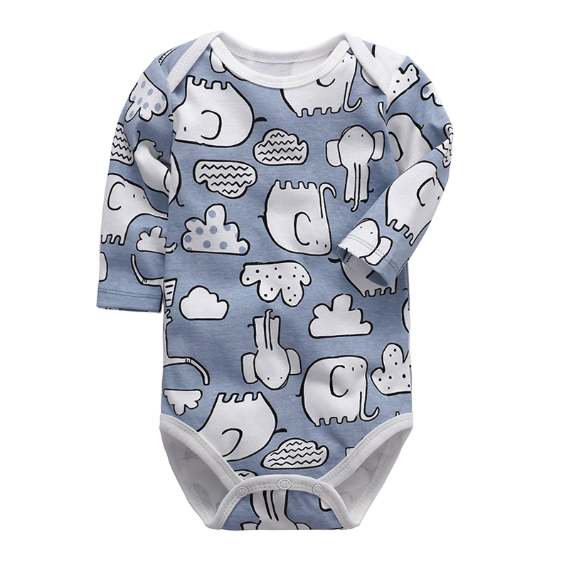 Newborn Bodysuit Baby Boys Girls Clothing Long Sleeve 3 6 9 12 18 24 Months Infant Clothes