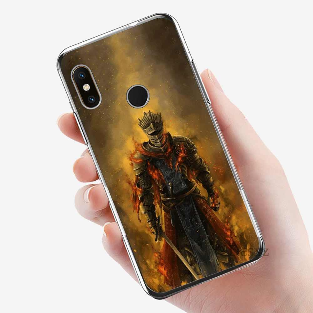 Caja del teléfono móvil TPU para Xiaomi mi CC9 CC9E 9T mi x 2S 6 8 9 SE A1 a2 5X 6X MAX 3 A3 Pro Lite cubierta almas oscuras