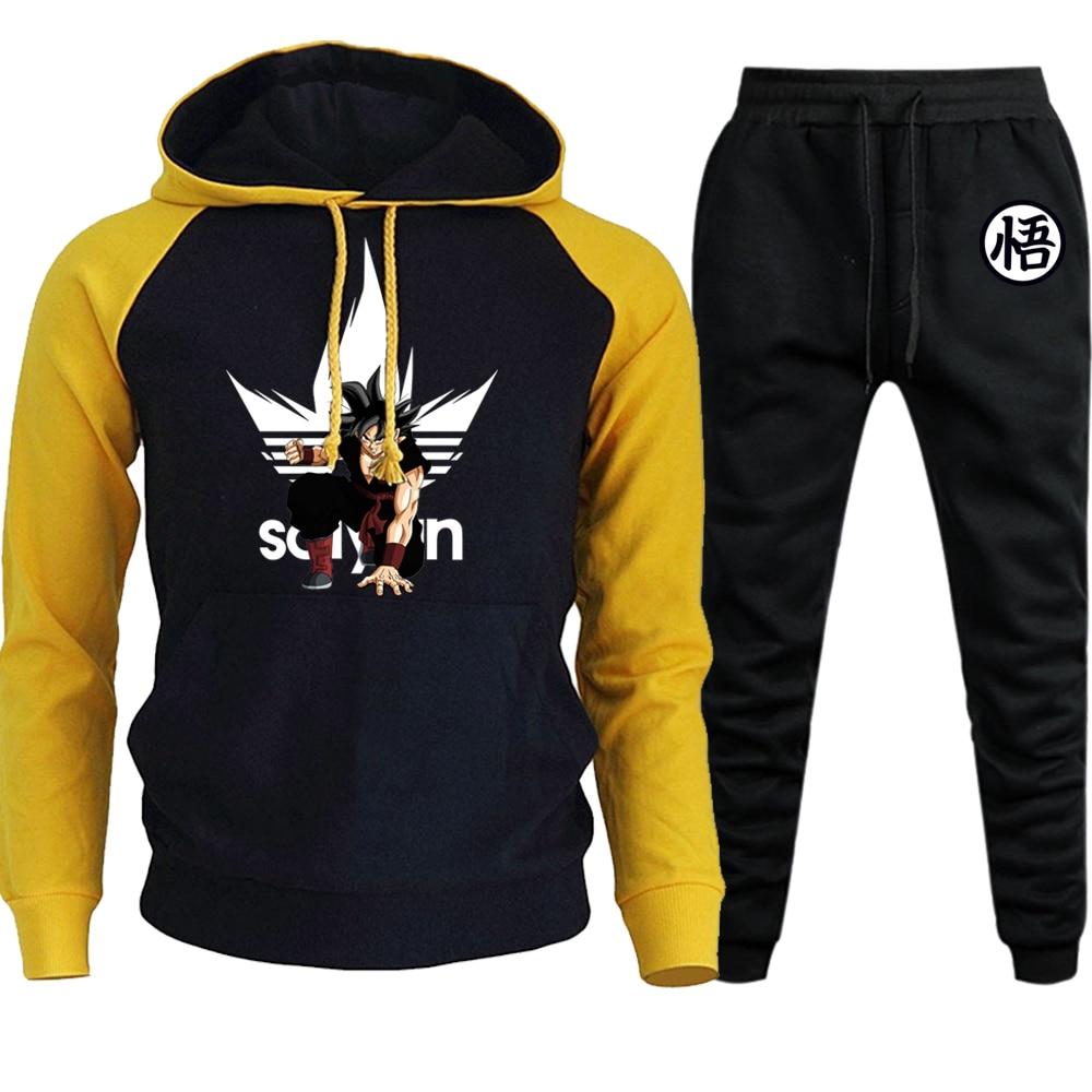 Sweatshirt Men Hoodies Dragon Ball Mens Sportswear Tracksuits Pullover Hoody